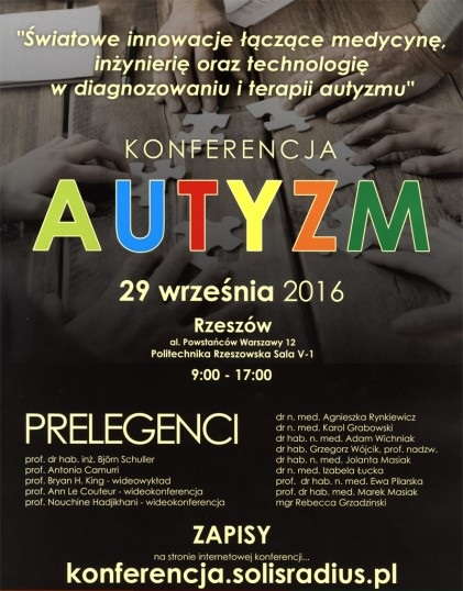 konferencja na temat autyzmu